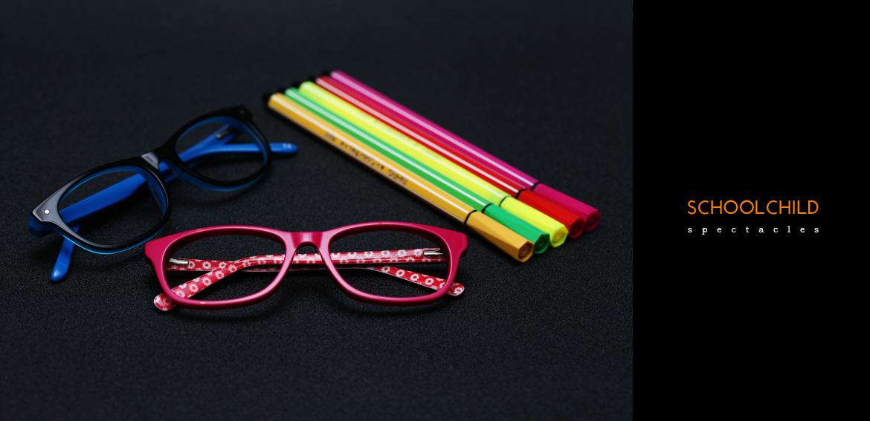 schoolchild eyeglasses